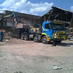 Demolition in Macclesfield