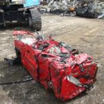 Scrap Vehicle in Frodsham