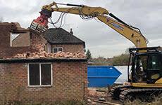 Demolition in Northwich