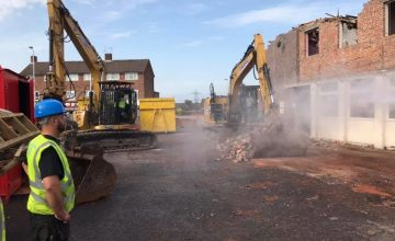 Commercial Dismantler in Macclesfield, UK's Leading Independent Demolition Contractor